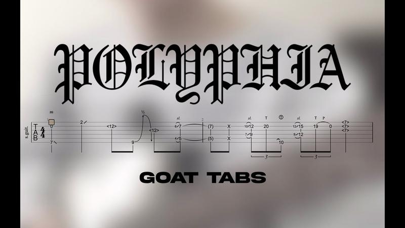 Polyphia Goat Riff Tabs