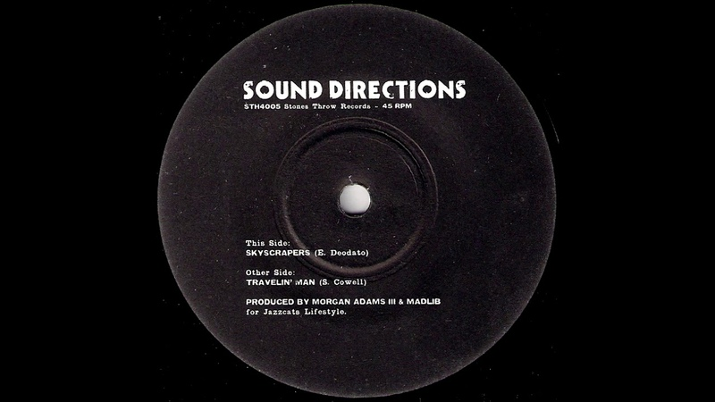 Sound Directions - Skyscrapers [Stones Throw Records] 2003 Fusion Experimental Hip Hop Beats 45