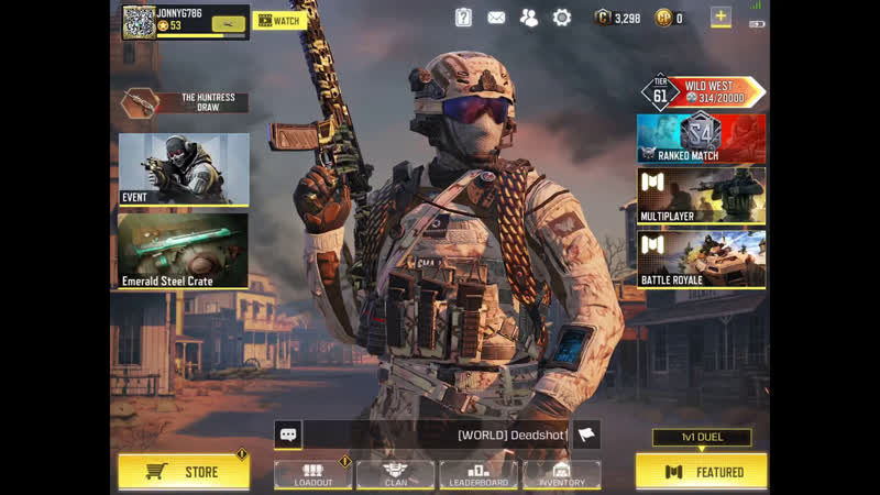 Call of Duty: Mobile - Survival of the Fittest - Battle Royal Challenge
