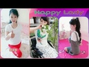Beautiful triple amputee lady Episode 3 Happy lady Lovely smile