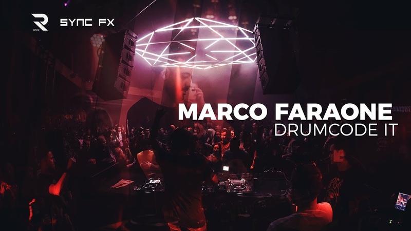 Marco Faraone Drumcode 🇮🇹 SyncFX R sound @Бессоница Moscow Techno