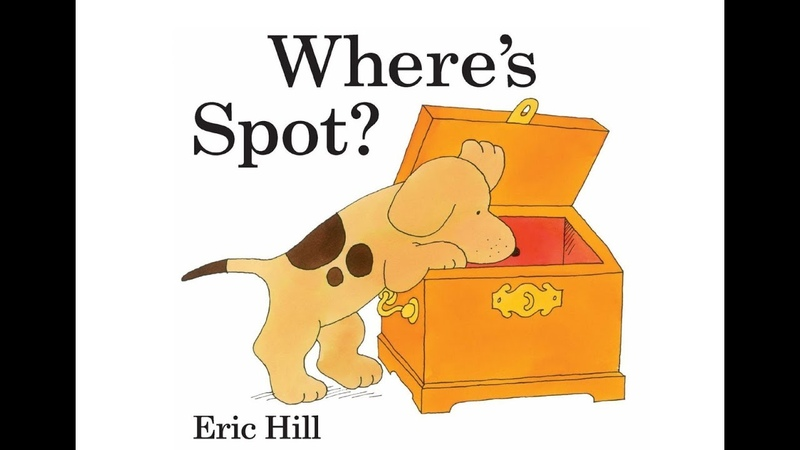 Where's Spot Easy English reading video for Kids