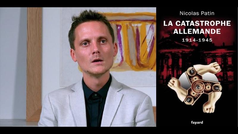 4 - Nicolas PATIN pour son livre La catastrophe allemande