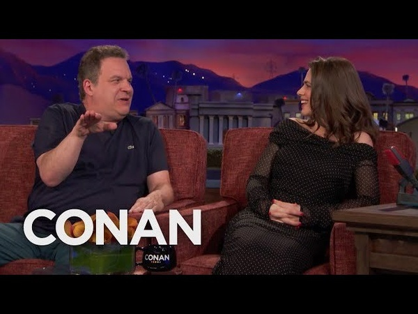 Jeff Garlin Hijacks The Hayley Atwell Interview - CONAN on TBS