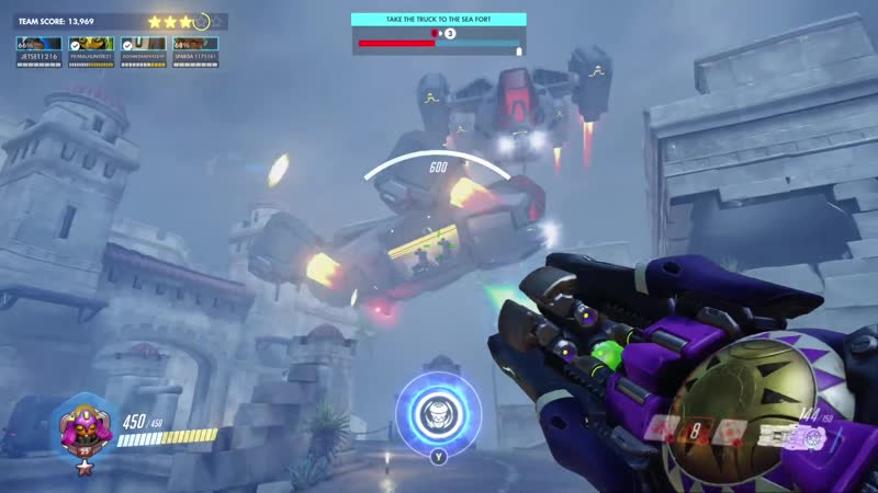 Interesting bug with orisa's pull in storm rising