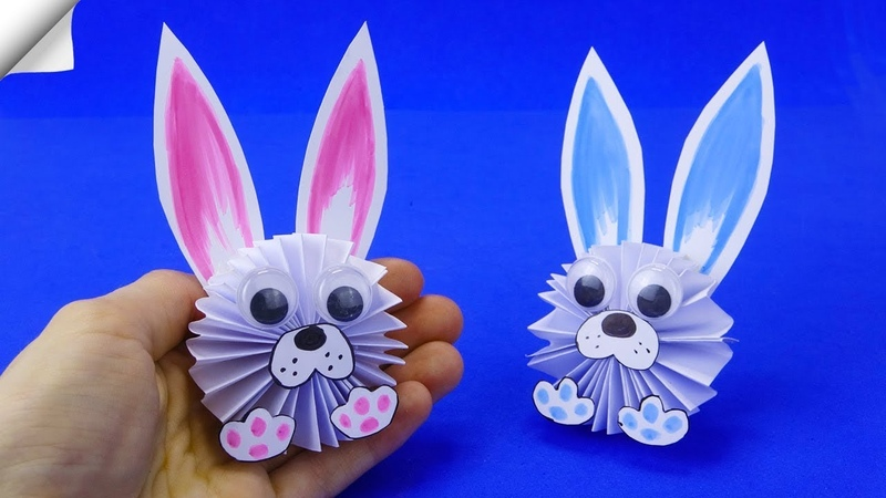 Easter Craft Ideas Paper RABBIT Paper Crafts for Kids