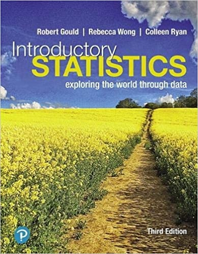 Introductory Statistics Exploring the World Through Data, 3rd Edition