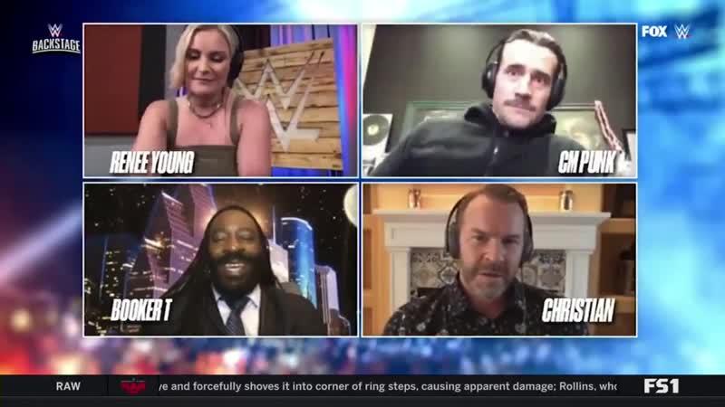 CM Punk WWE Backstage 12 05