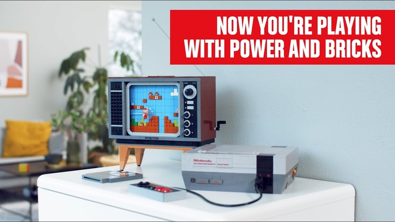 LEGO Nintendo Entertainment System Now youre playing with power...and bricks