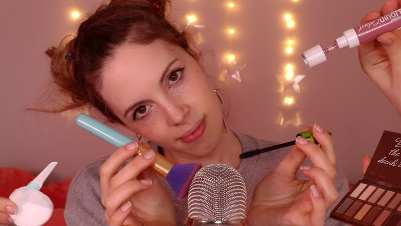 ASMR Fast Aggressive Doing Your Makeup But its 20 Minutes Long