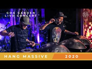 Hang Massive - Goa Garden Live Concert 2020 [HD]