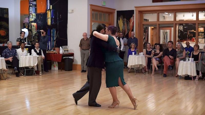 Erin Doruk at Salt Lake Tango Festival 2019 Pocas Palabras (Tanturi)