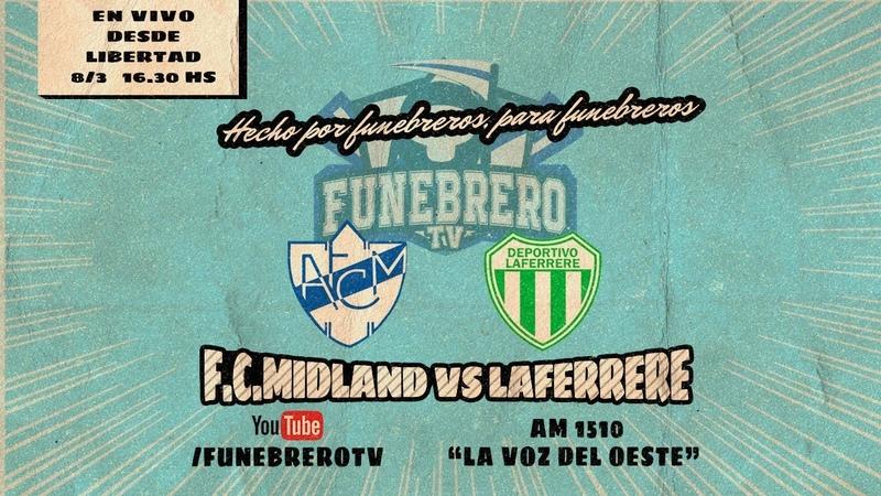 F C Midland vs Laferrere en vivo 8° Fecha Torneo Clausura 2020 Primera C