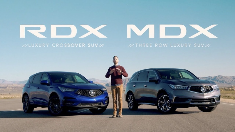 Acura MDX vs RDX SUV Comparisons Which is Right for You