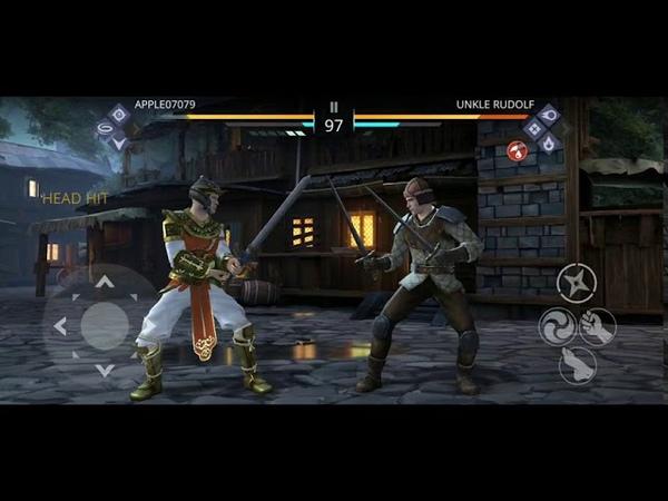 Shadow Fight 3 GamePlay SECRET FIGHTS APPLE07079 VS ROWDY LIBERATOR UNKLE RUDOLF OFFICER IRENE