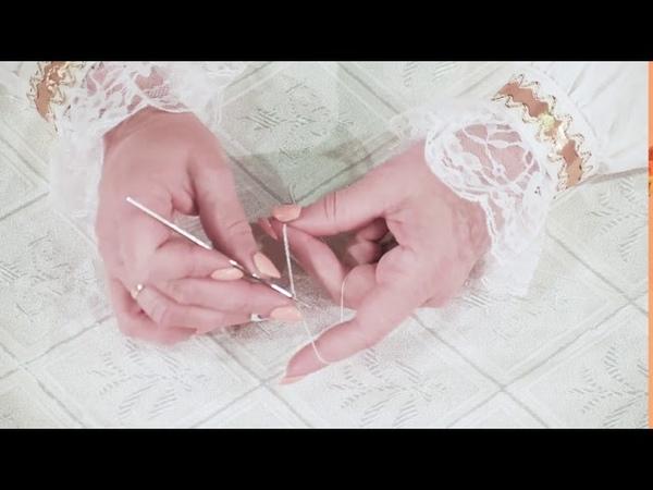 Мастер класс бисероплетение Синяя роза гжель Еремина Ольга Сергеевна