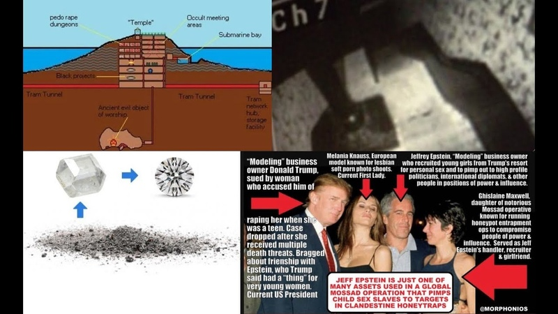 Epstein's Underground S C A B Systematic Child Abuse Base Submarines Trafficking Kids