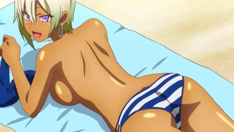 Моя первая гяру(Hajimete no Gal) - 08 [RUS озвучка] (юмор, аниме эротика,этти,ecchi, не хентай-hentai)