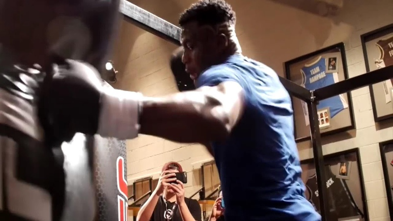 Francis Ngannou Beast Mode Training Highlights HD