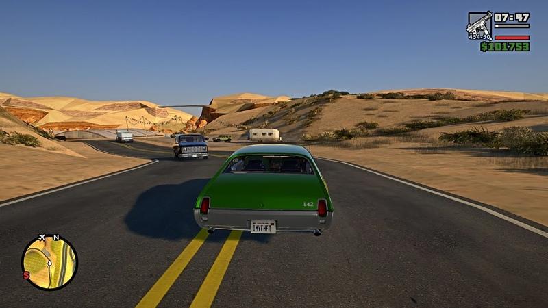 GTA San Andreas Gameplay Walkthrough Part 27 - Grand Theft Auto San Andreas PC 4K 60FPS