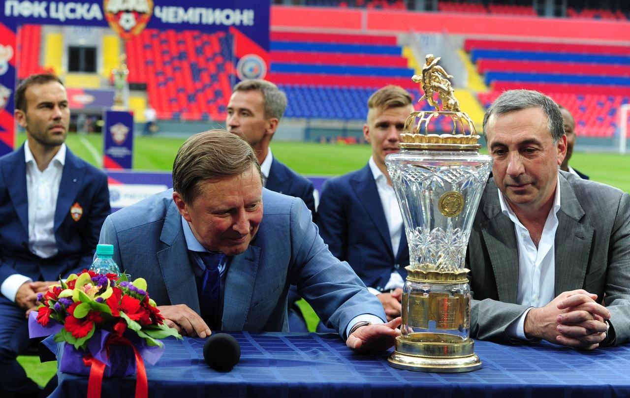 Сергей Иванов и Евгений Гинер. ПФК ЦСКА