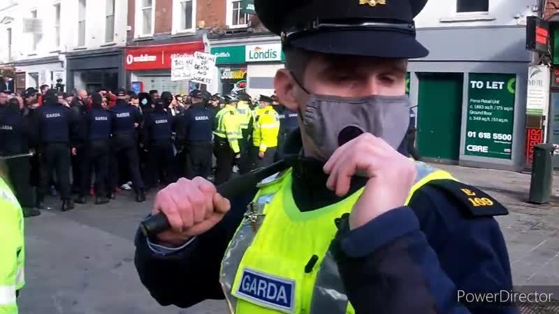 End the lock down protest Dublin 27_2_21