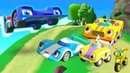 Мультики про машинки Супер Ралли - Гоночные машины и гонки на горной трассе - Игры для мальчиков