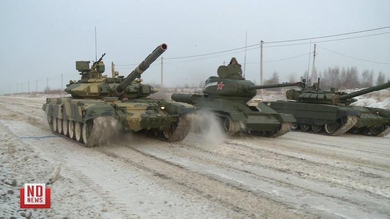 Гонки танков разных эпох
