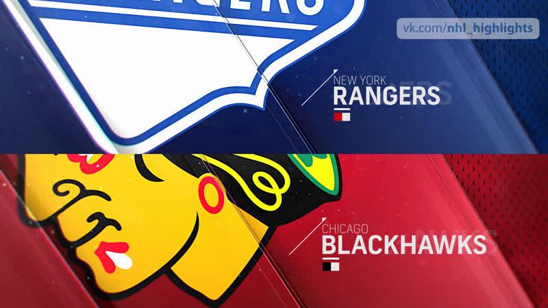 New York Rangers vs Chicago Blackhawks Feb 19, 2020 HIGHLIGHTS HD