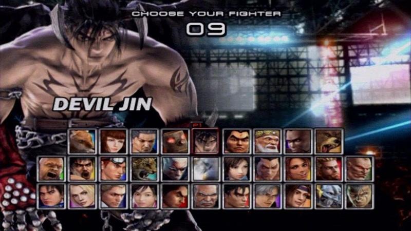 Tekken 5 Devil Jin