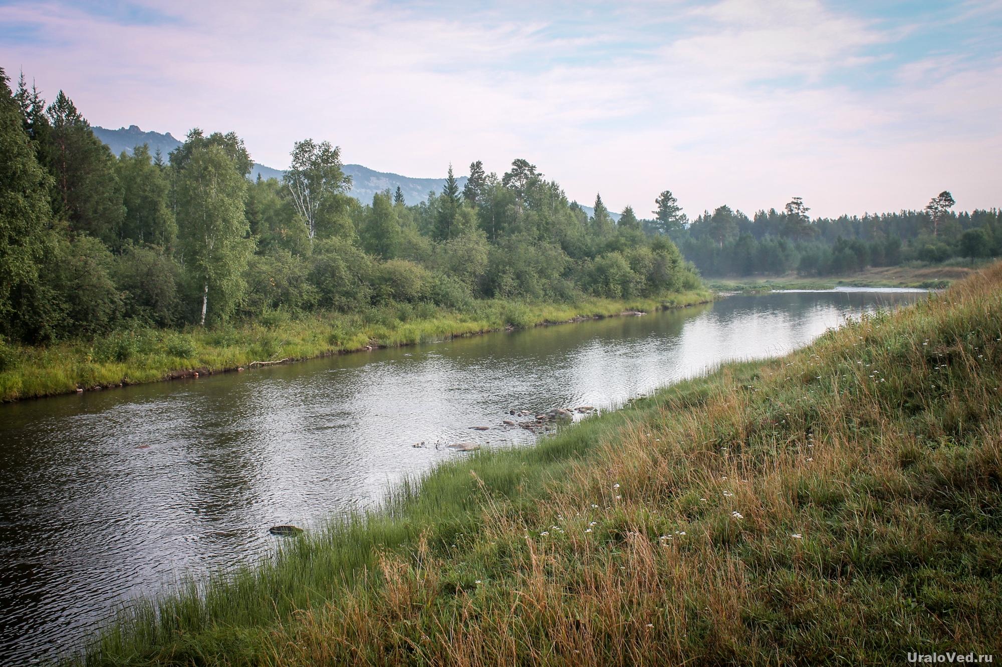 Река Юрюзань около Тюлюка
