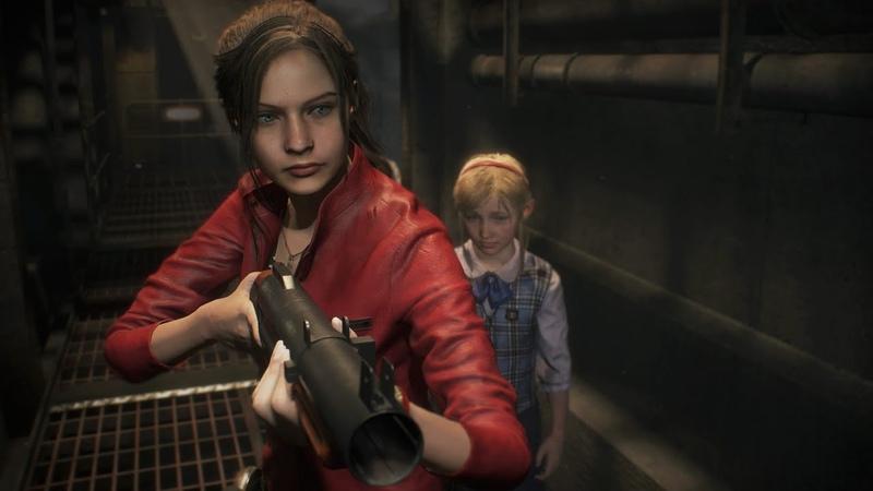 Resident Evil 2 Нам нужно выжить Клэр