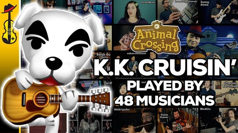Animal Crossing K.K. Cruisin (Mega Collaboration Cover) ft. 48 Musicians || String Player Gamer