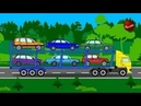 Развивающие Мультики про Машинки Трак Эвакуатор и Трактор Monster Trak