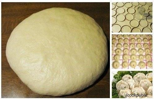 Супер тесто на пельмени и вареники  Ингредиенты:  - газировка 1...