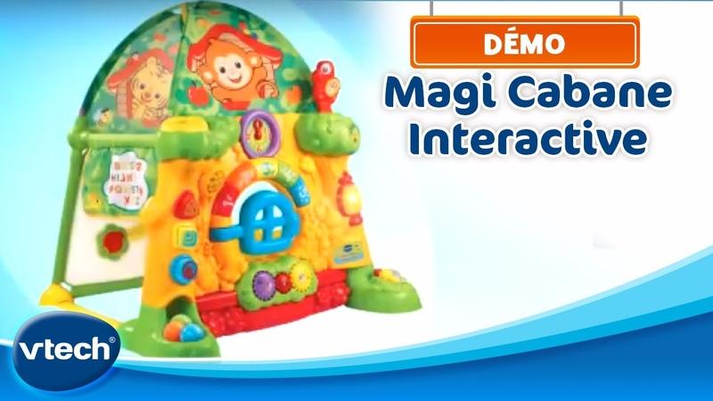 Magi Cabane Intéractive L'aire de jeux géante pour developper son imagination VTech смотреть онлайн без регистрации