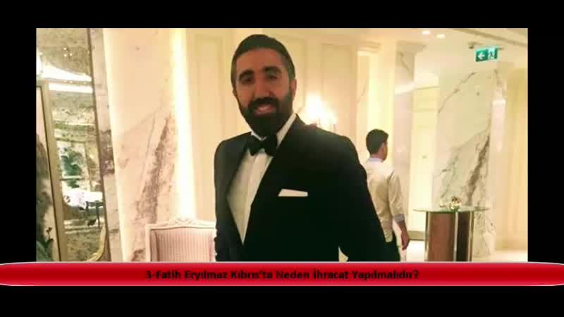3 Fatih Eryılmaz Kıbrıs'ta Neden İhracat Yapılmalıdır