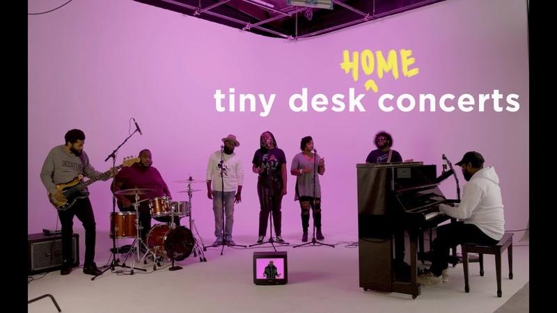 PJ Morton Tiny Desk Home Concert