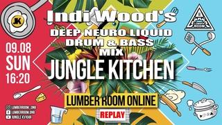 Indi Wood's Deep Neuro Liquid DnB mix at Jungle Kitchen