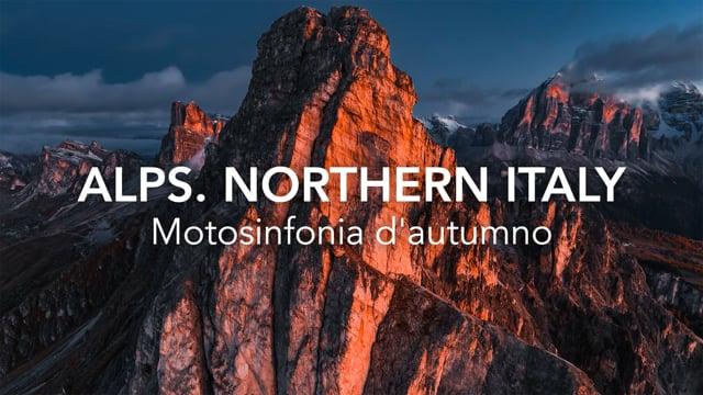 Motosinfonia d'autumno Alps Northern Italy Timelab MV Agusta