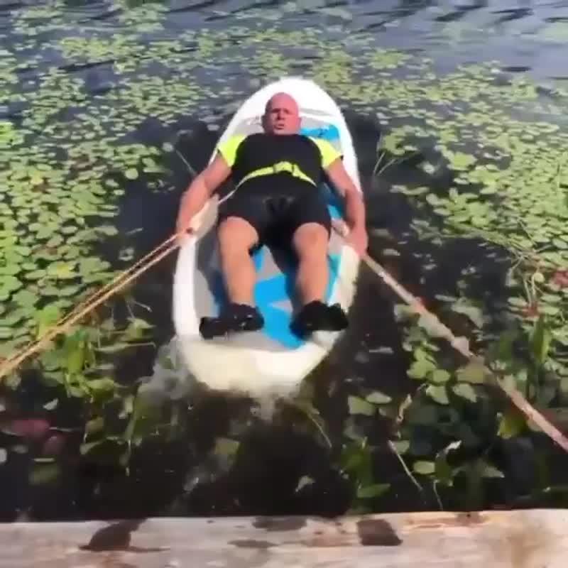 Необычная тренировка ног