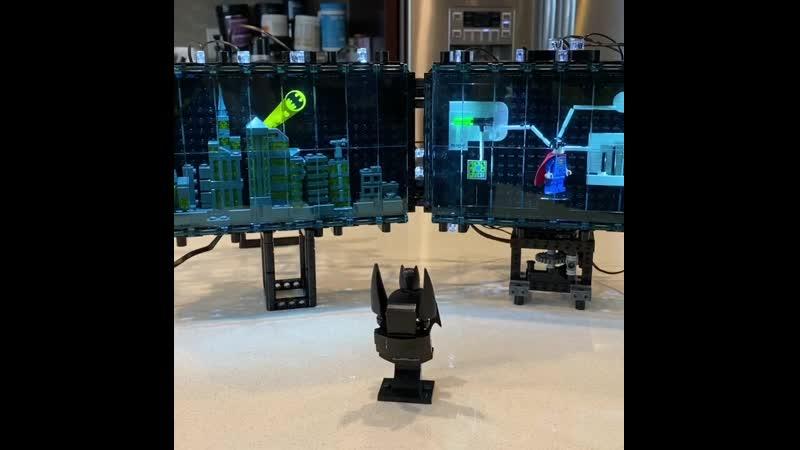 Самоделка Лего Бэтмен