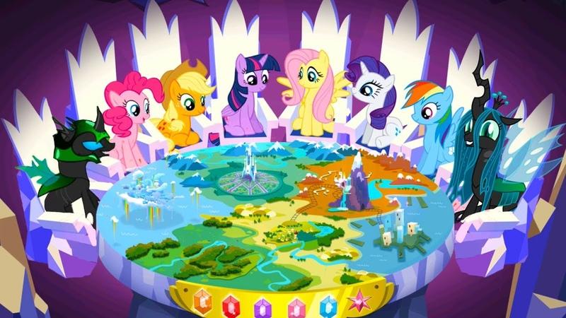 Мой МАЛЕНЬКИЙ Пони в ДРУЖБА ЭТО ЧУДО 10 Финал игры с Кидом по мультику для детей My Little Pony