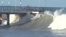 Сильный шторм в Лазаревском 4-5 августа 2019 Большие волны