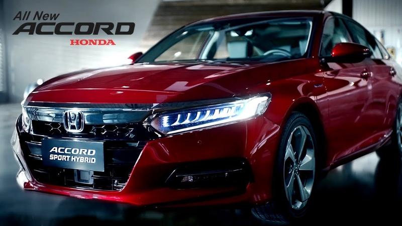New 2021 HONDA ACCORD - Sport Hybrid Sedan!