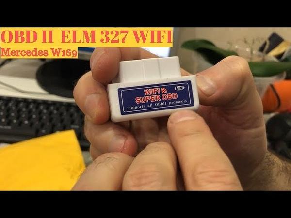 OBD 2 ELM 327 WIFI реально работает на IPhone
