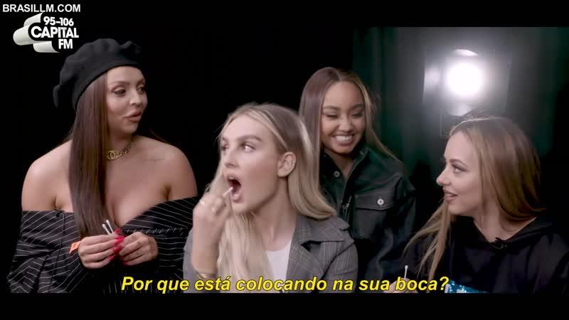 Quizface com a Little Mix na Capital FM LEGENDADO PT BR