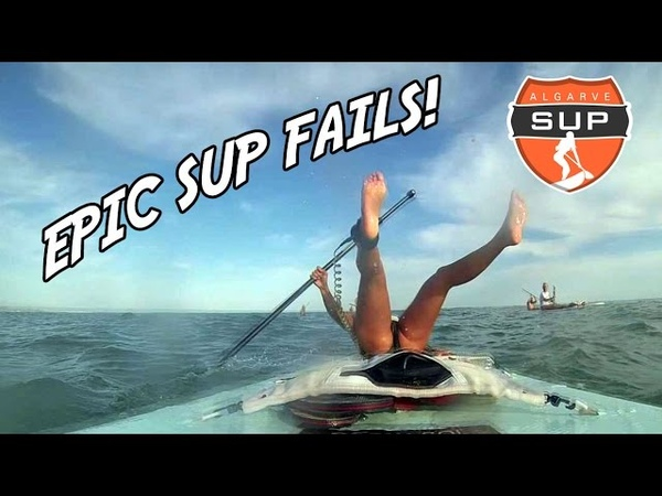 Epic stand up paddle boarding FAILS