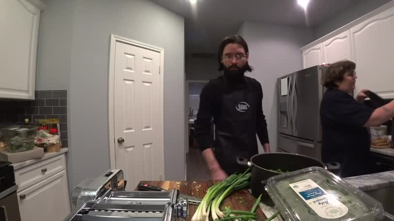Andy and Cyr are cooking Twitch House