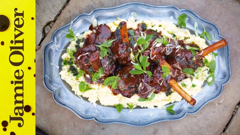 Slow Cooked Lamb Shanks Jamie Oliver